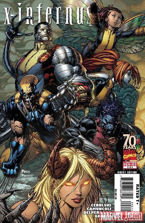 Magik  Illyana Rasputin   Nightcrawler  Wolverine  X-Men  MercuryX Men Mercury