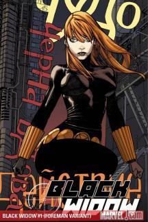 Black Widow (2010) #1 (FOREMAN VARIANT)