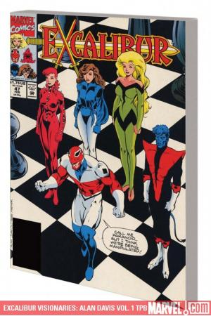 Excalibur Visionaries: Alan Davis Vol. 1 (Trade Paperback)