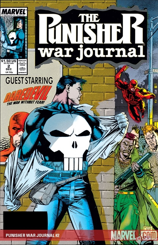 Punisher War Journal (1988) #2