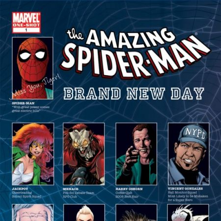 Spider-Man: Brand New Day Yearbook (2008)