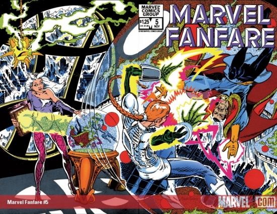 Marvel Fanfare (1982) #5