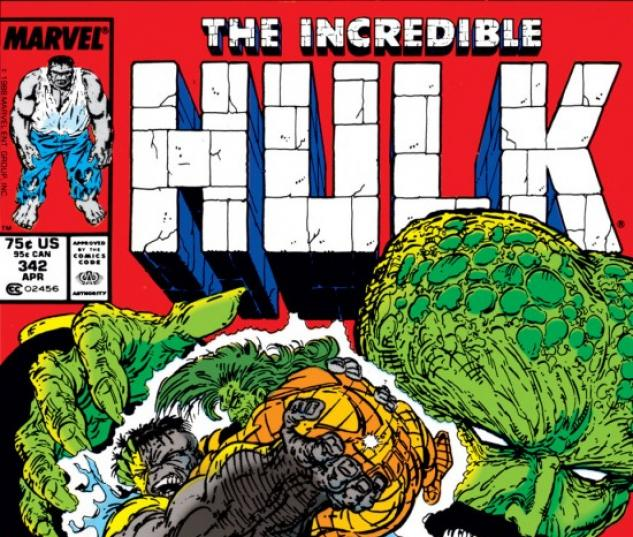 INCREDIBLE HULK (2009) #342 COVER