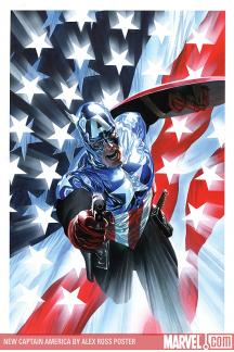 New Captain America by Alex Ross Poster (2008)