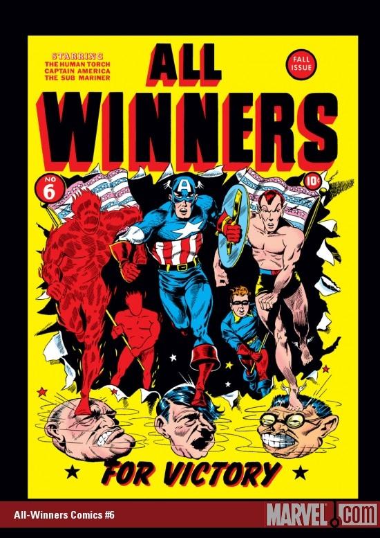 All-Winners Comics (1941) #6