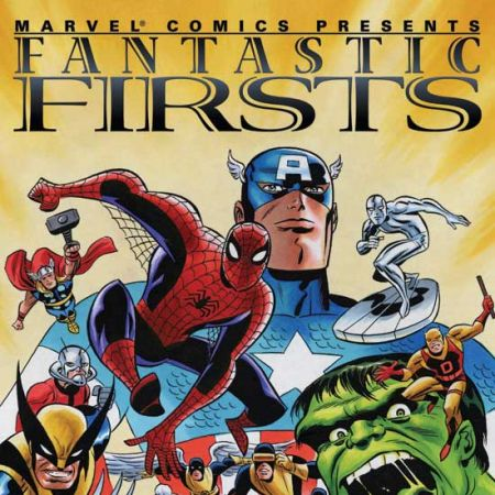 FANTASTIC FIRSTS VOL. I TPB COVER