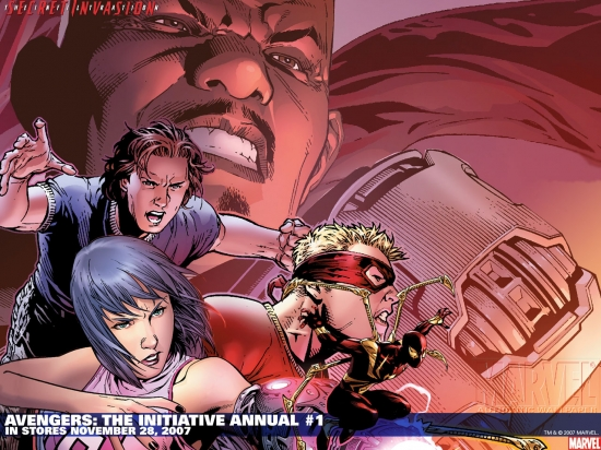 Avengers: The Initiative Annual (2007) #1 Wallpaper