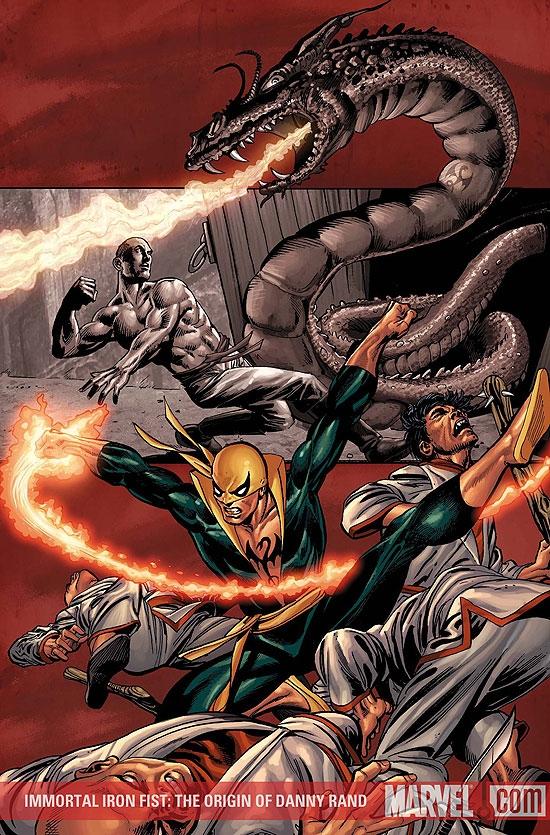 Immortal Iron Fist: The Origin of Danny Rand (2008) #1