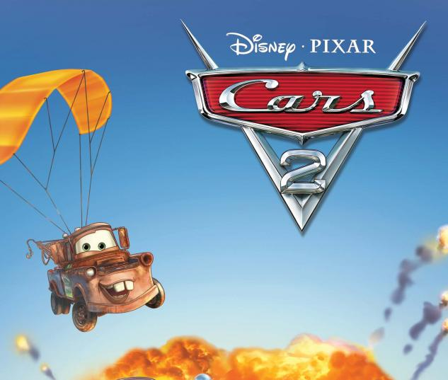 Cars 2 #2 cover