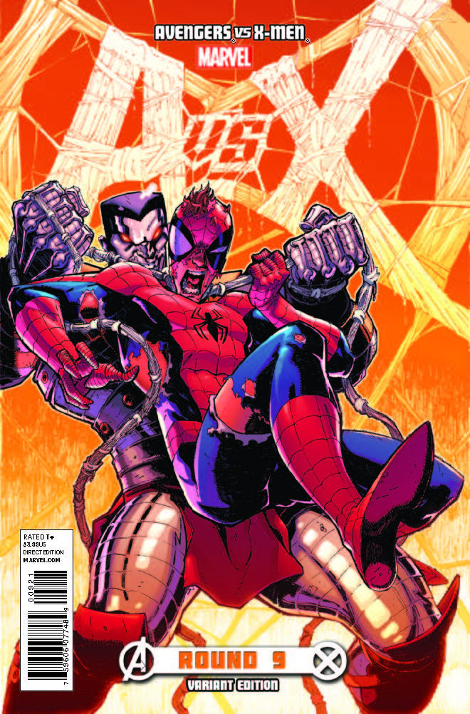 Avengers Vs. X-Men (2012) #9 (Stegman Variant)