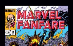Marvel Fanfare (1982) #11 Cover