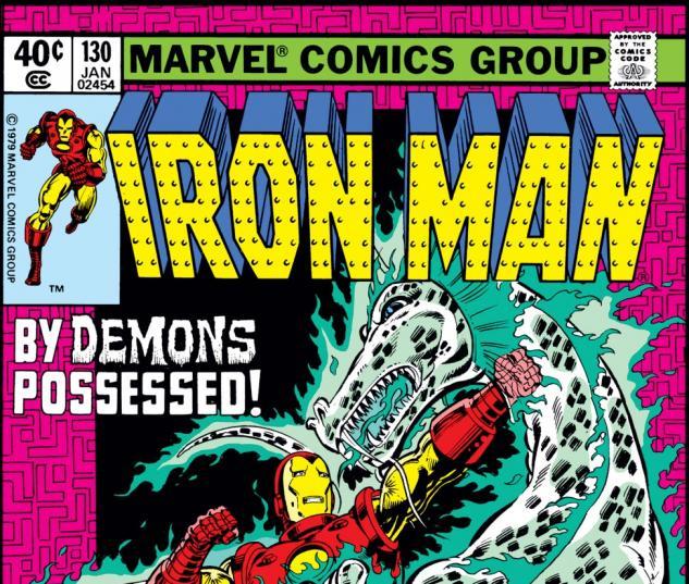 Iron Man (1968) #130 Cover