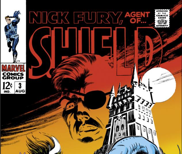Nick Fury, Agent of Shield (1968) #3 Cover
