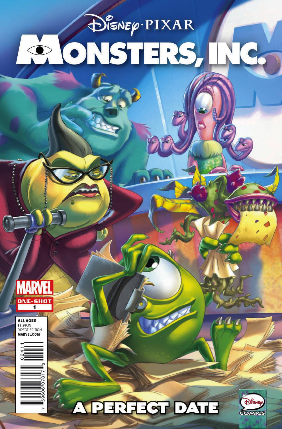 Monsters, Inc. (2012) #1