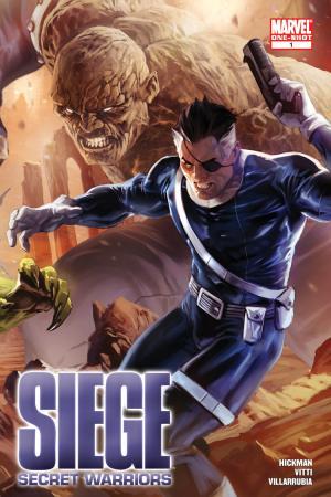 Siege: Secret Warriors (2010) #1