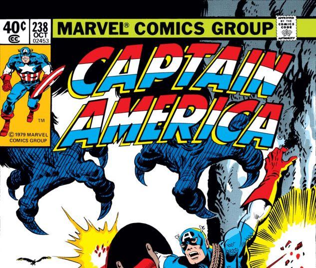 Captain America (1968) #238 Cover