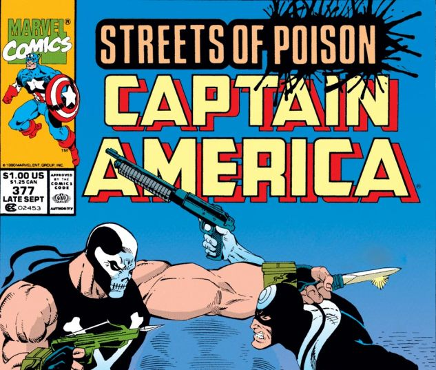 Captain America (1968) #377 Cover