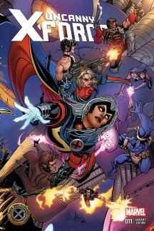 Uncanny X-Force #11  (Larroca X-Men 50th Anniversary Variant)