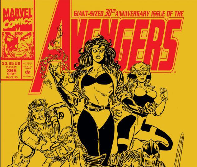 Avengers (1963) #366 Cover