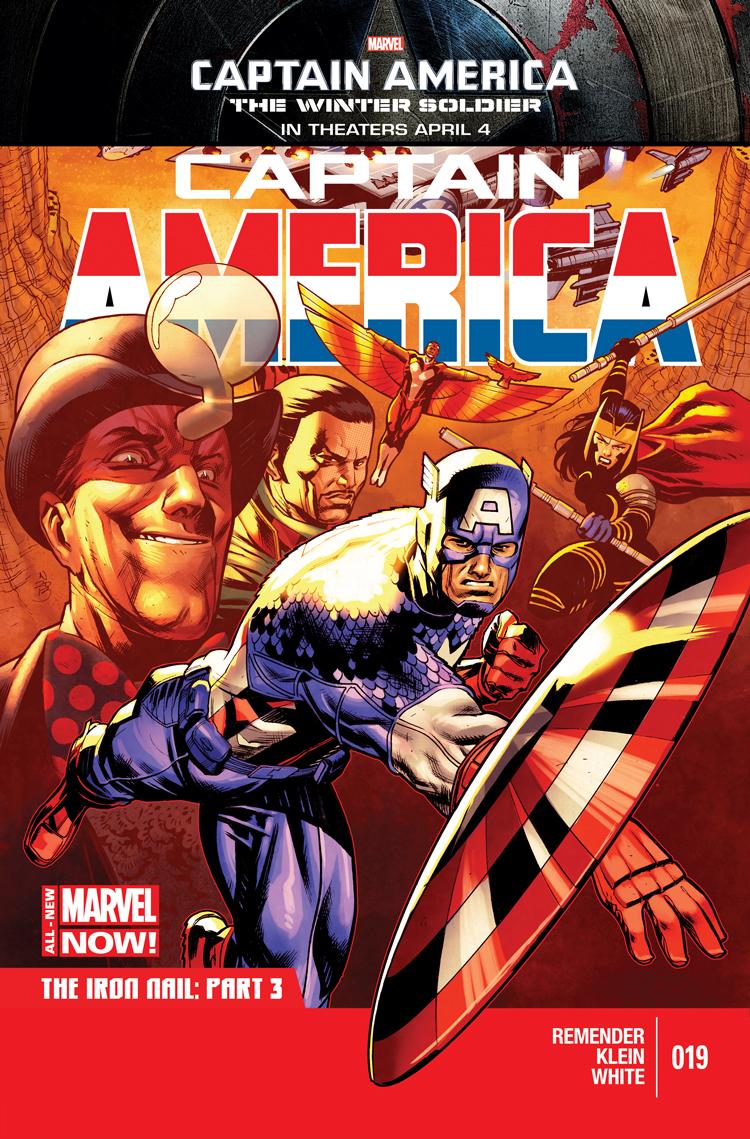 Captain America (2012) #19