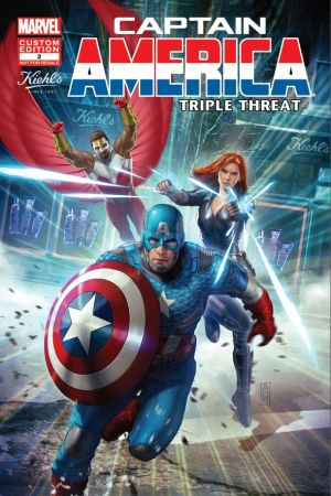 Captain America: Triple Threat (2014) #2