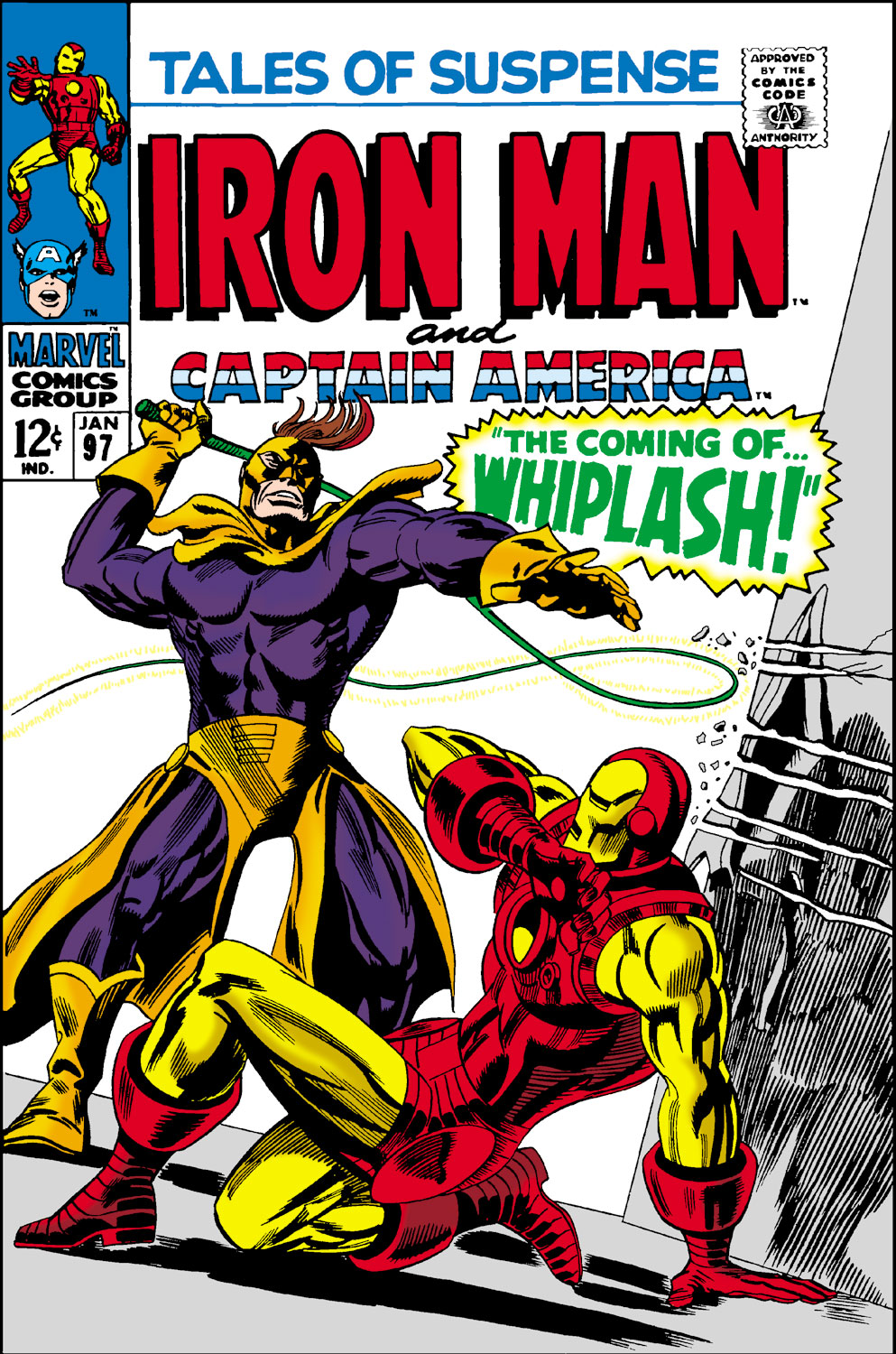 Tales of Suspense (1959) #97