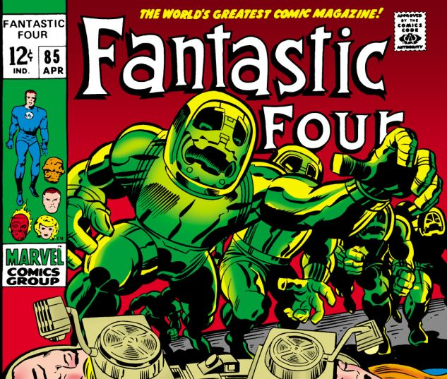 Fantastic Four (1961) #85 Cover