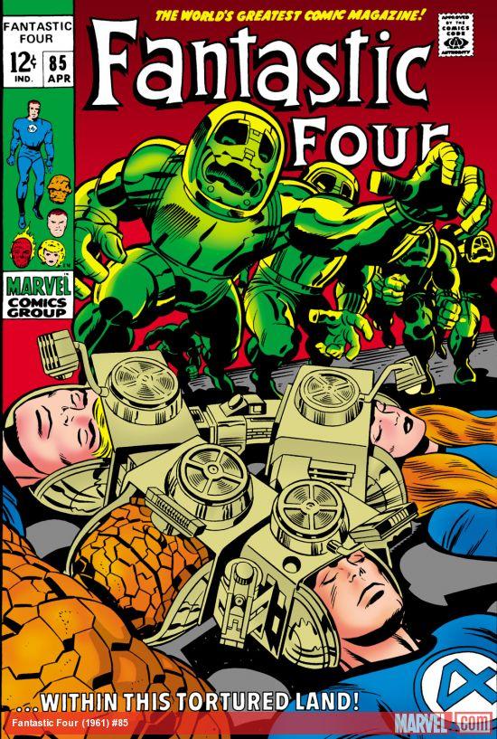 Fantastic Four (1961) #85