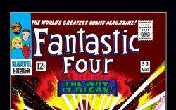 Fantastic Four (1961) #53 Cover