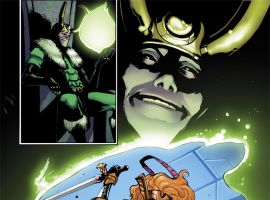Thor & Loki: The Tenth Realm #1 preview art by Lee Garbett