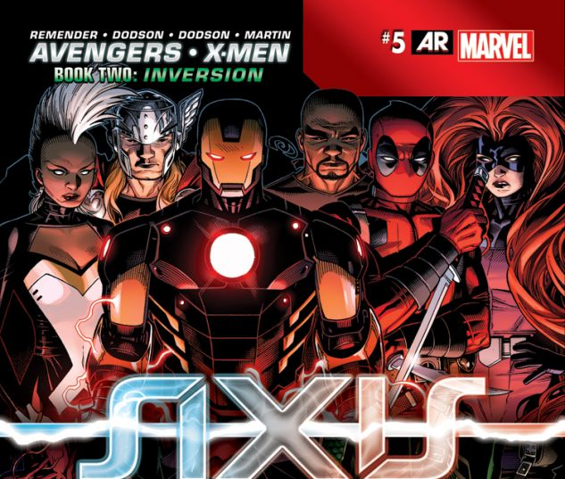 AVENGERS & X-MEN: AXIS 5 (AX, WITH DIGITAL CODE)