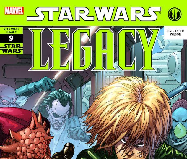 Star Wars: Legacy (2006) #9