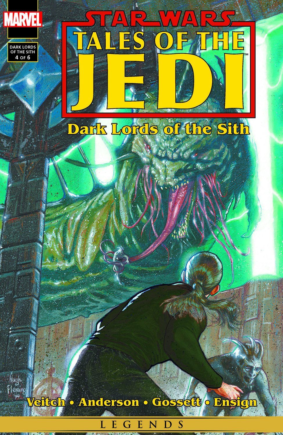 Star Wars: Tales of the Jedi - Dark Lords of the Sith (1994) #4