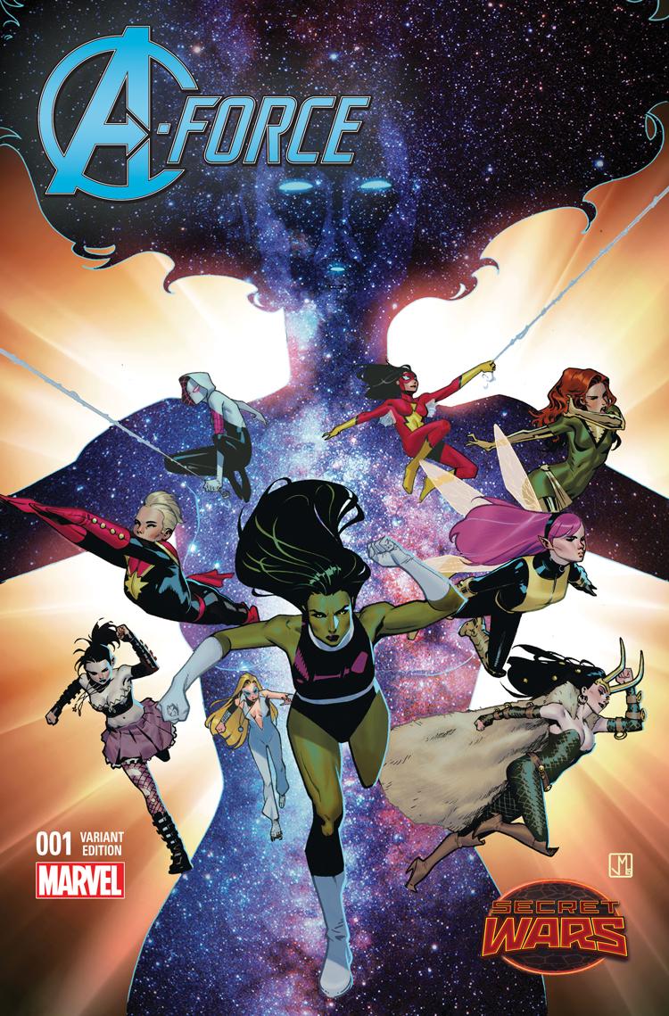 A-Force #1 Marvel Comics NW146
