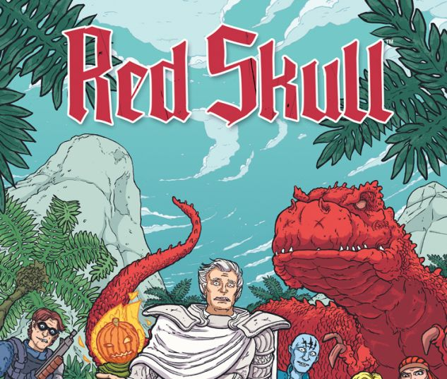 RED SKULL 1 PITARRA VARIANT (SW, WITH DIGITAL CODE)