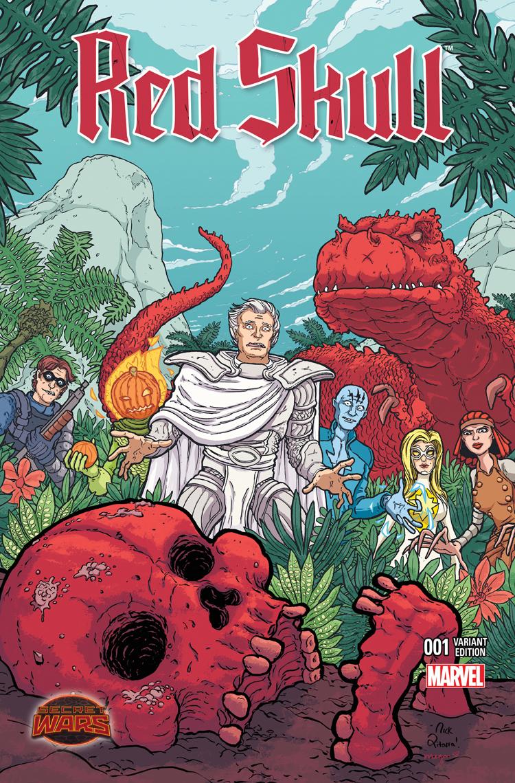 Red Skull (2015) #1 (Pitarra Variant)