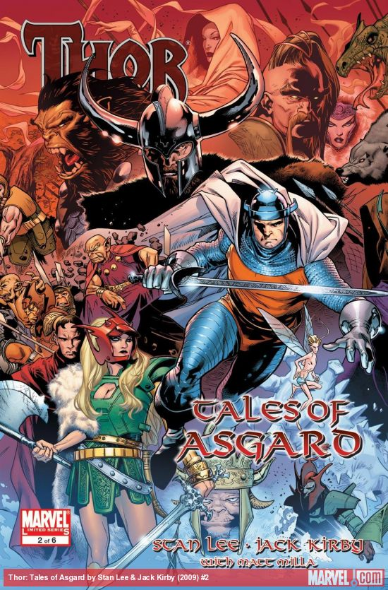 Thor: Tales of Asgard by Stan Lee & Jack Kirby (2009) #2
