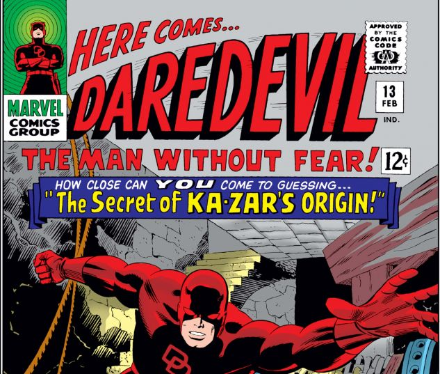 DAREDEVIL (1964) #13 Cover