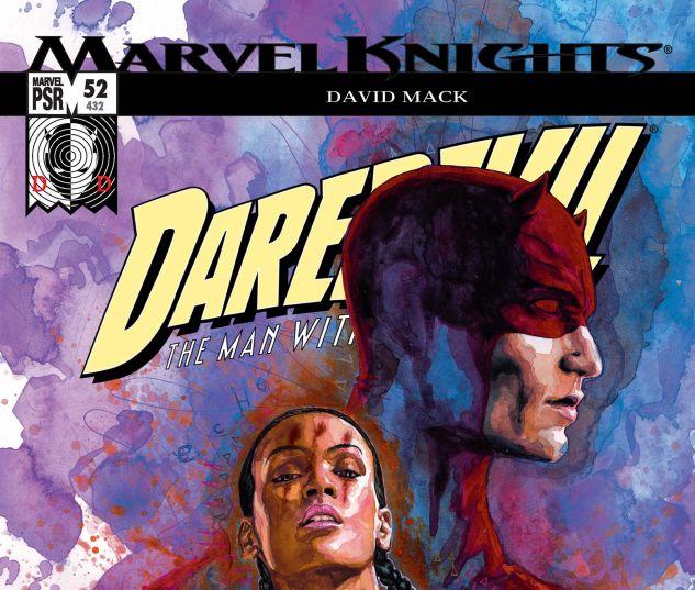 DAREDEVIL (1998) #52 Cover