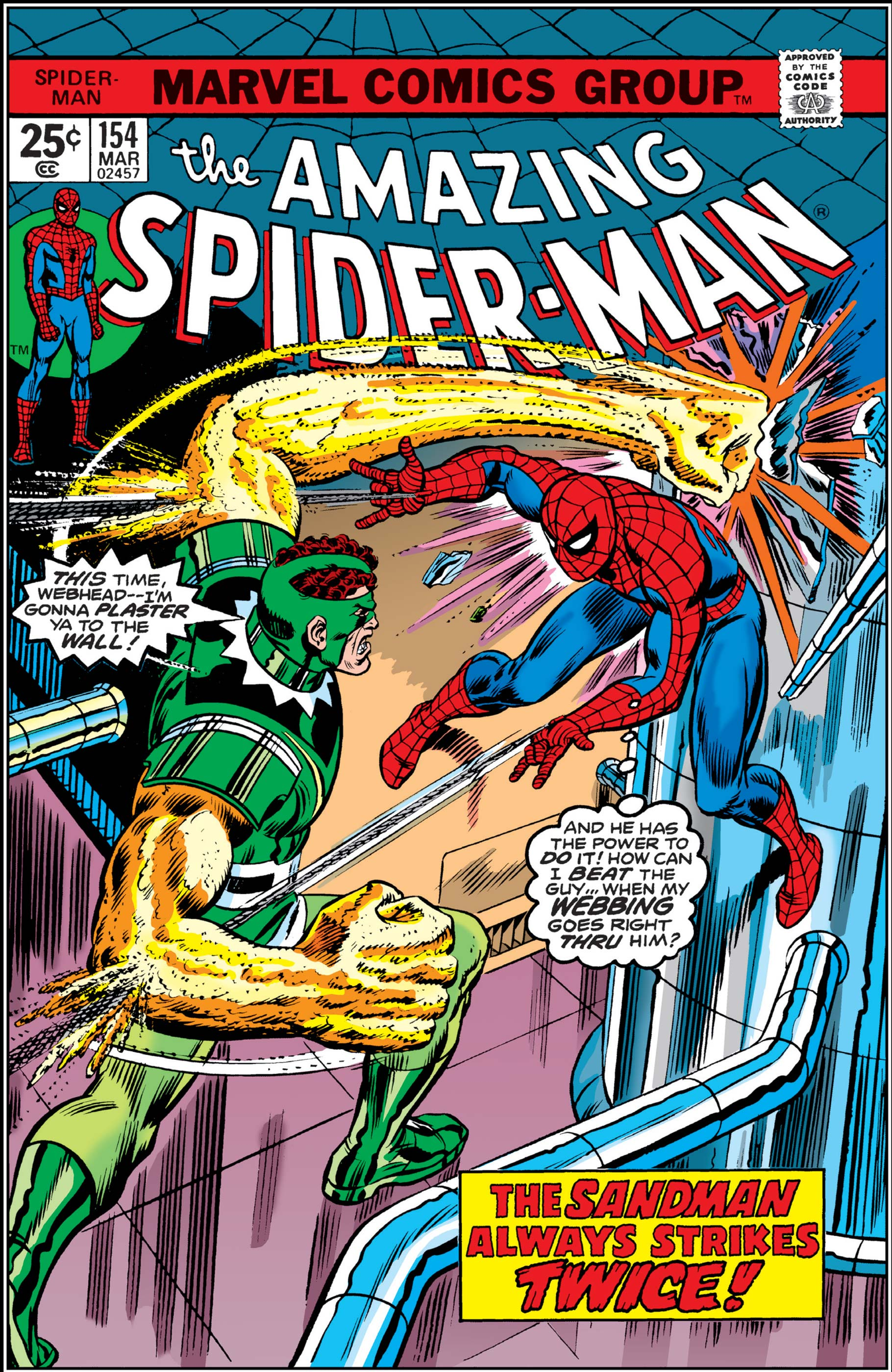The Amazing Spider-Man (1963) #154