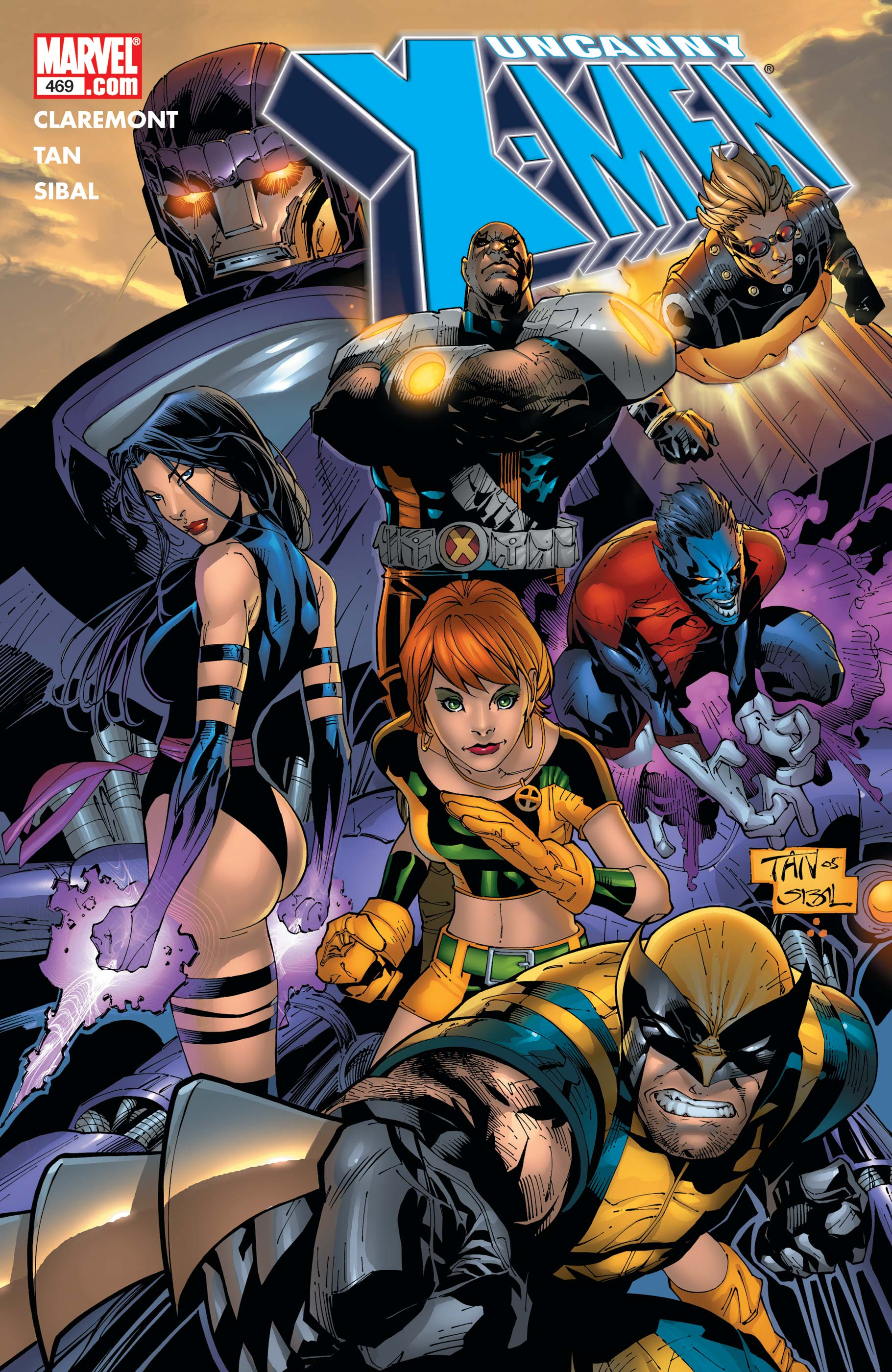 Uncanny X-Men (1963) #469