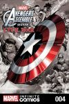 cover from Marvel Universe Avengers Assemble: Civil War (Digital Comic) (2017) #4