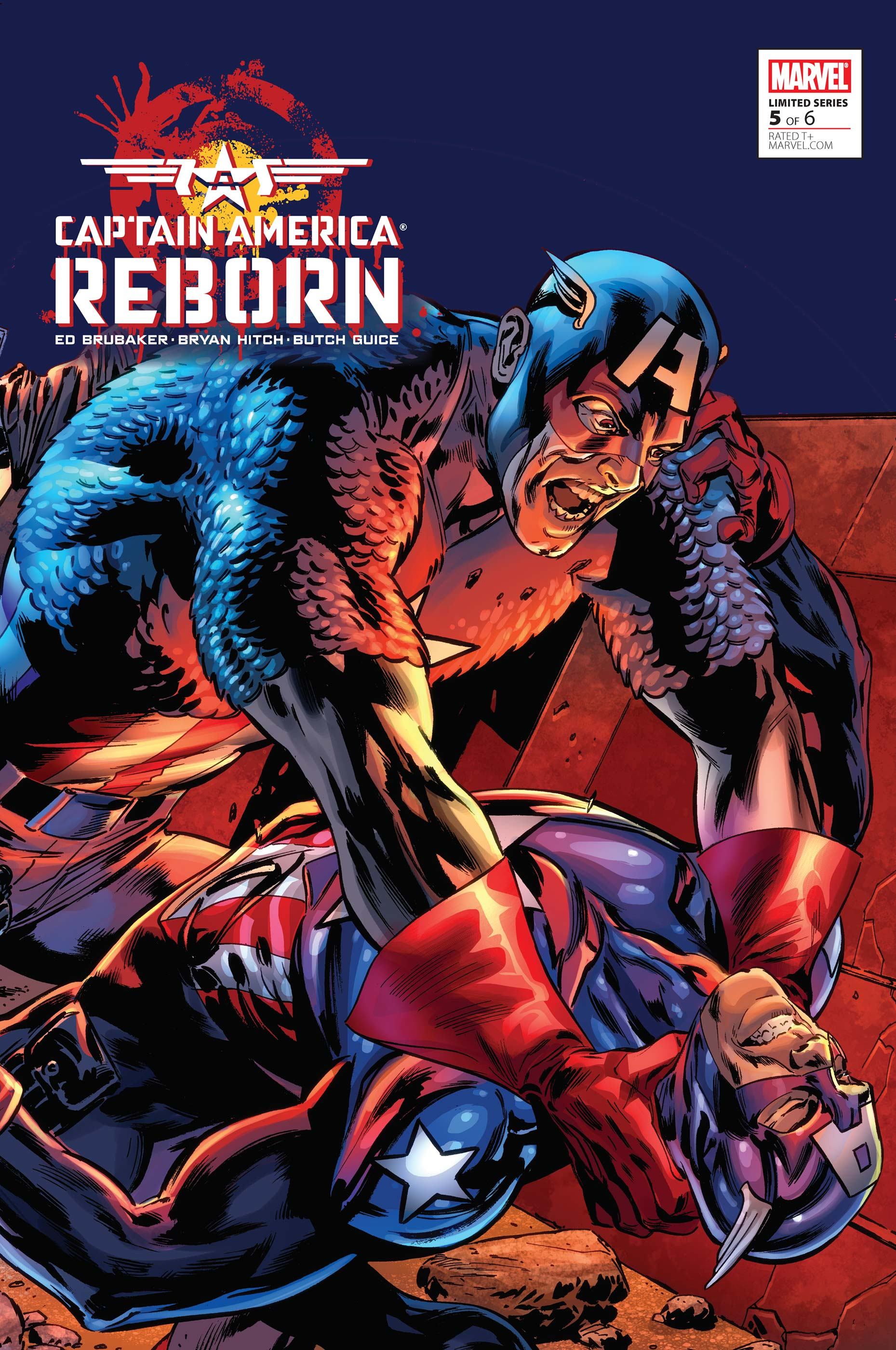 Captain America: Reborn (2009) #5
