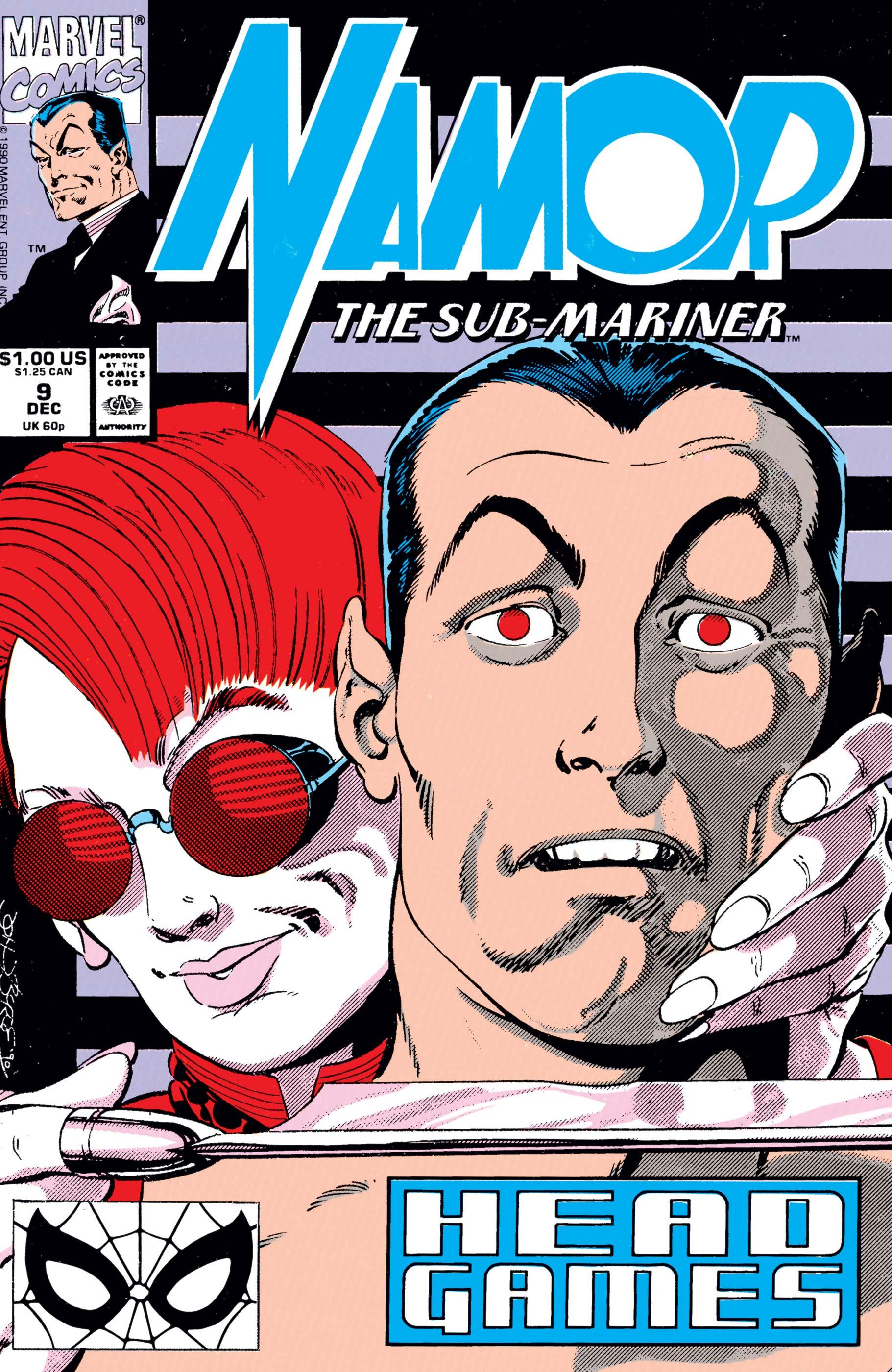 Namor: The Sub-Mariner (1990) #9