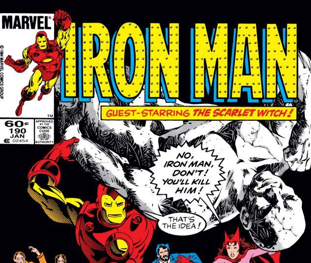 IRON MAN (1968) #190