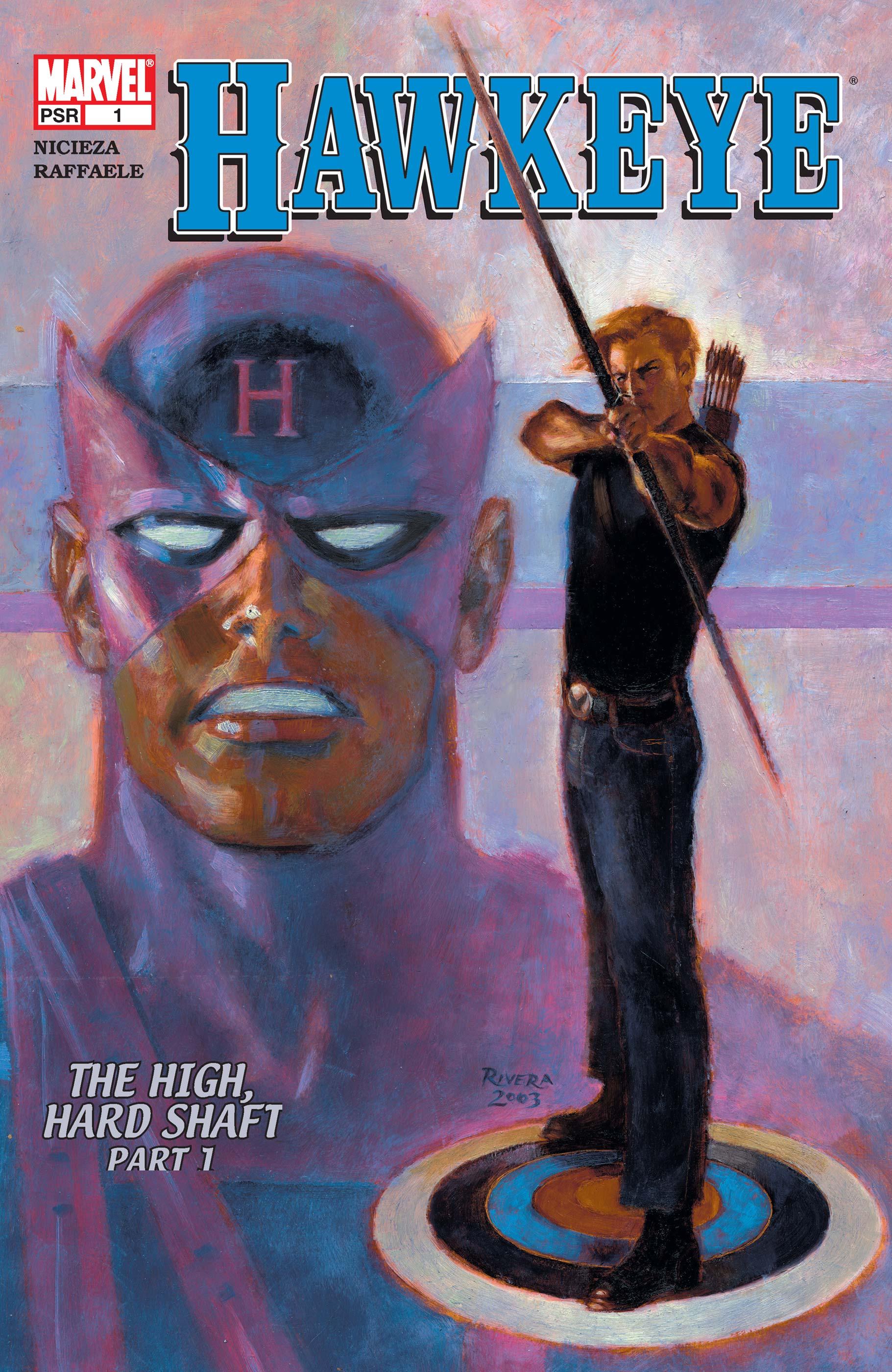 Hawkeye (2003) #1