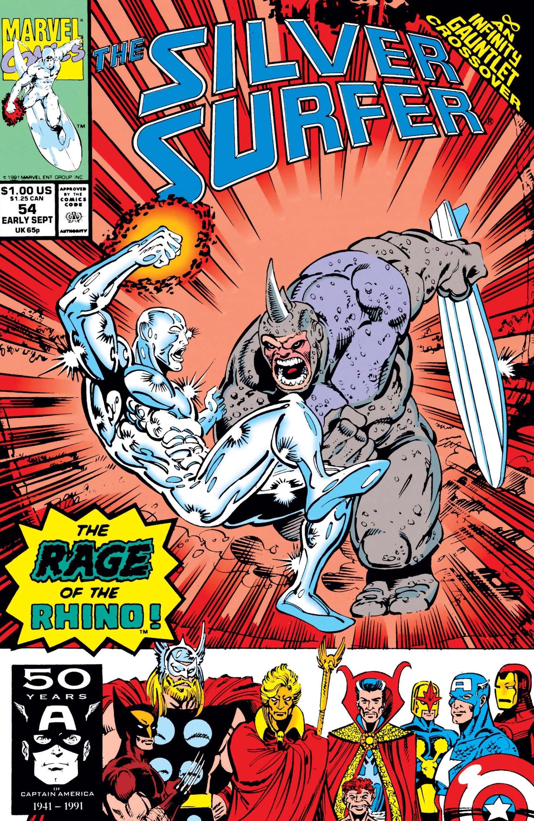 Silver Surfer (1987) #54