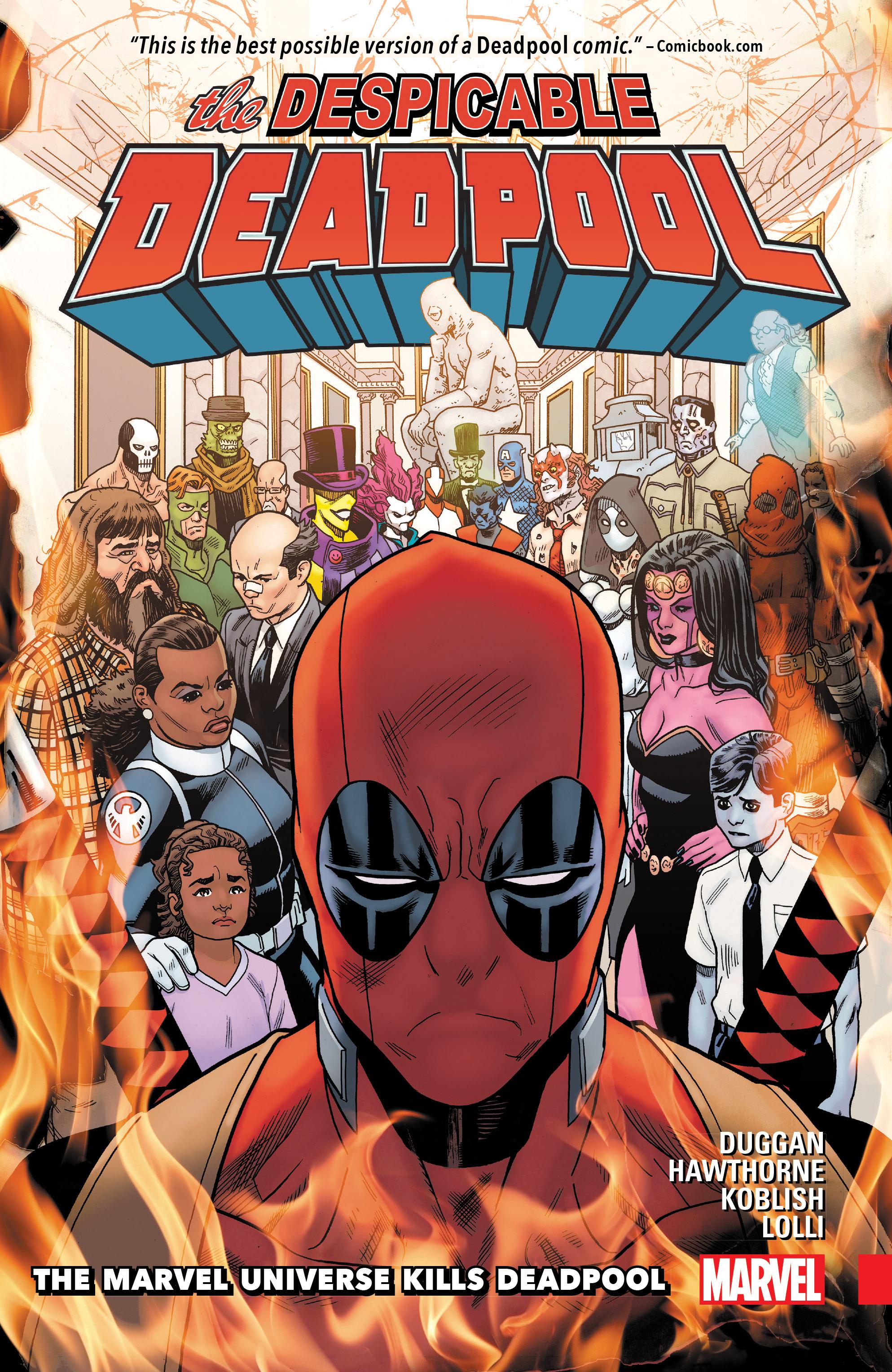 Despicable Deadpool Vol. 3: The Marvel Universe Kills Deadpool (Trade Paperback)