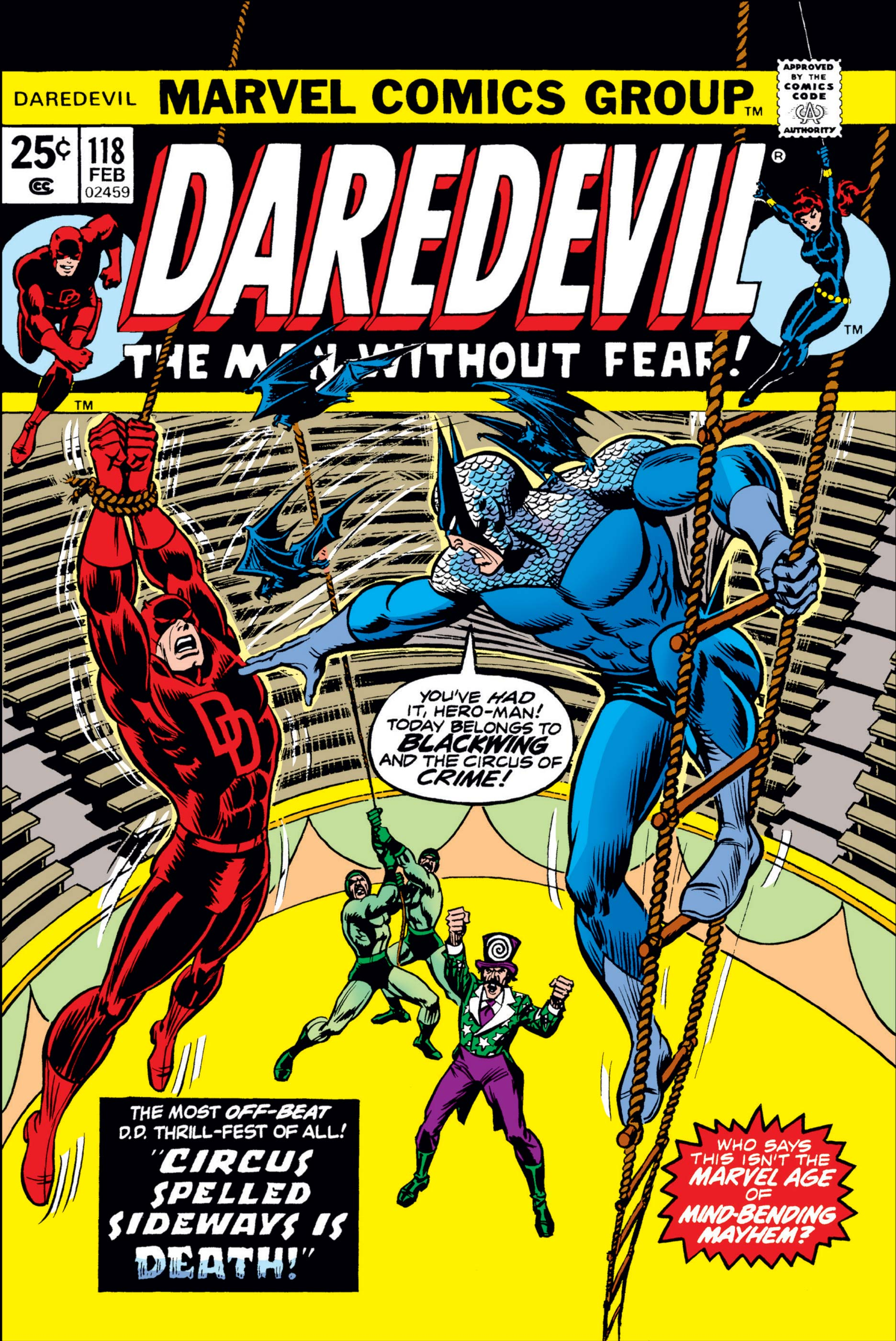 Daredevil (1964) #118