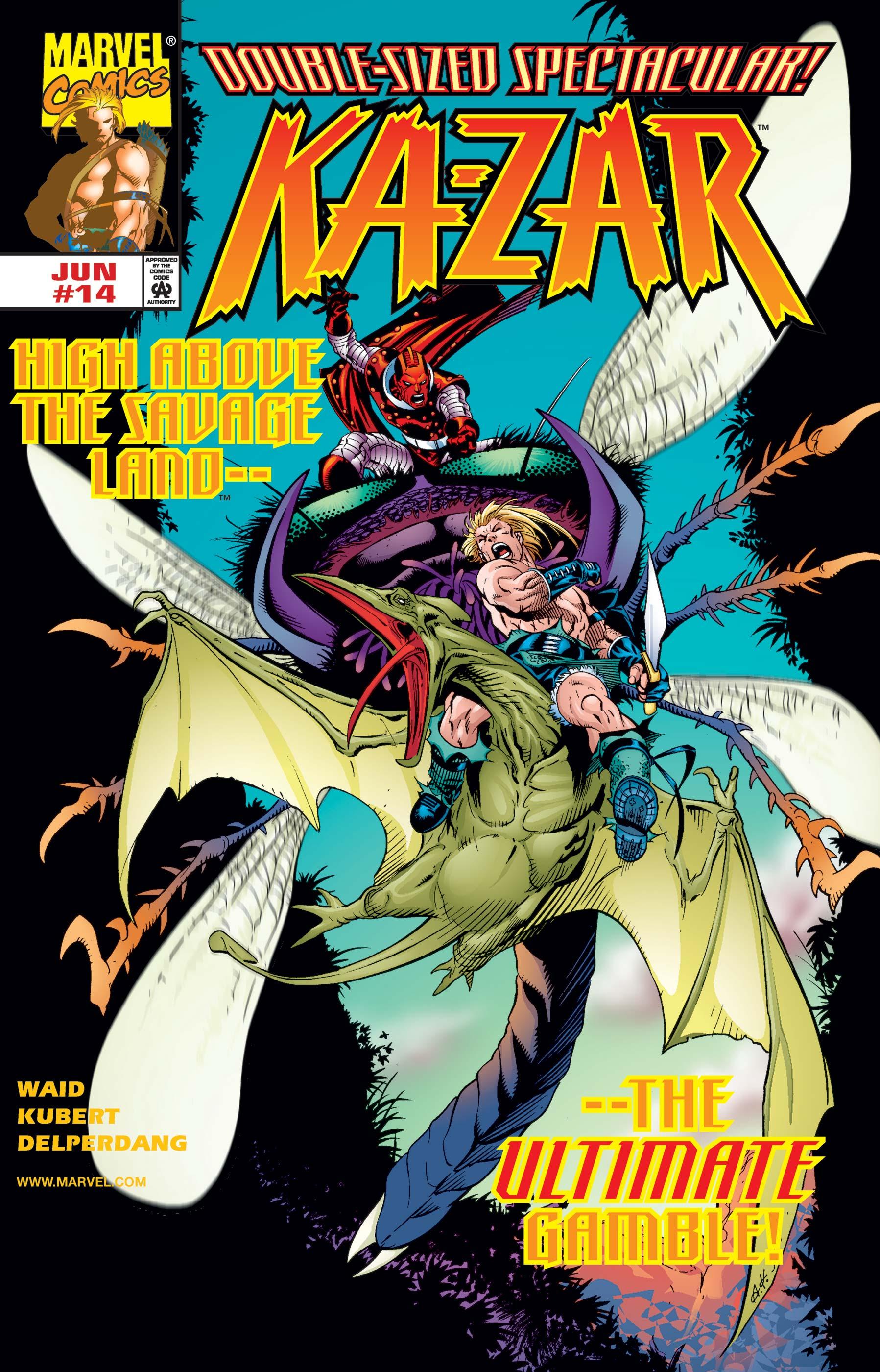 Ka-Zar (1997) #14